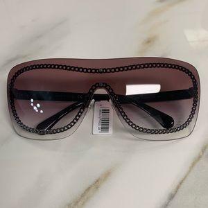 NEW Chanel Shield Sunglasses (Spring 2019)